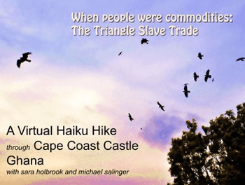Stop Drop and Write - Cape Coast and the Triangle Slave Trade